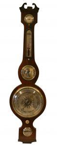 Victorian rosewood four piece wheel barometer