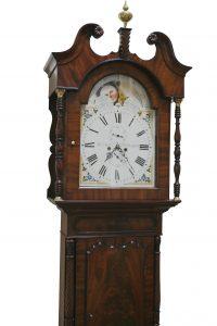 A William IV mahogany long case clock