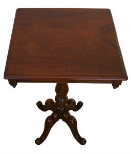 A Victorian mahogany occasional/ wine table